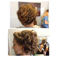Wedding hair 217.864.0634 #uniqueboutiquemtz