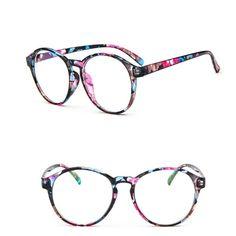 2e4a9c901 Vintage Dapper Round Clear Lens Glasses – IWISB Armações Para Óculos,  Armações De Óculos,