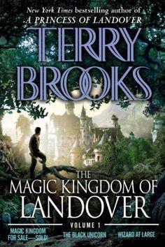 The magic kingdom of landover volume 1 by terry brooks -- I Love Terry Brooks!