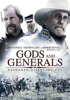 Gods and Generals: (Extended Director's Cut) – Catalog Itunes Stephen Lang, Gods And Generals, Angelina Jolie Movies, Civil War Movies, Robert Duvall, World Movies, War Film, Good Movies To Watch, Instant Video