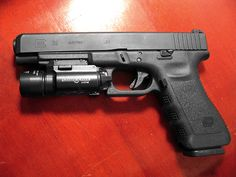 GLOCK 35 With Surefire Light