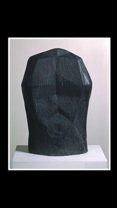 """Raoul Ubac - """" Torse """", 1966 - Ardoise - 70 x 49 x 15 cm - Centre Pompidou, Paris"""