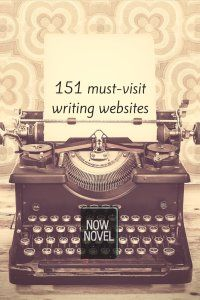 151 useful resources for #writers: http://www.nownovel.com/blog/151-important-novel-writing-resources/
