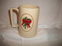 vintage Hallmark Christmas mug