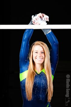 Senior Portrait / Photo / Picture Idea - Girls - Gymnastics / Gymnast - Uneven Bars
