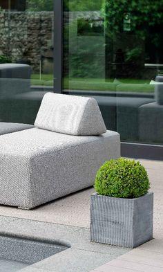 Lieblich 3 In 1: Lounge, Liege Und Sofa: Donna Von Stern Möbel. Modern Und  Wasserfest Für Balkon, Terrasse Und Garten | Loungemöbel Für Terrasse Und  Garten ...