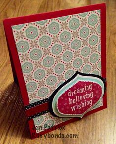 Roxybonds Close To My Heart CTMH consultant : October Stamp of the Month- Home For the Holidays