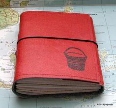 bucket list journal with world atlas maps