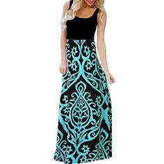 New 2019 Long Sleeve U-Neck Maxi Dress Split Hem Baggy Kaftan Long Loose Dress TOOPOOT Summer Dress for Women