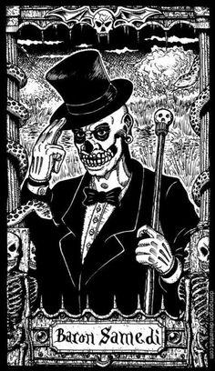 Facilier looks very similar to Baron Samedi, the Loa (spirit) of magic, ancestor-worship, and death in Haitian Vodou. Baron Samedi is often described as being very. Baron Samedi, Papa Legba, Dibujos Dark, Voodoo Priest, La Danse Macabre, Rose Croix, New Orleans Voodoo, The Dark Side, Sugar Skull Tattoos
