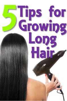 Just cut my hair.... Already trying to grow it out lol 5 Tips for Growing Long Hair