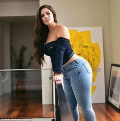 Plus-Size Model Ashley Graham on a Mission to Stop Curvy Women from Covering Up