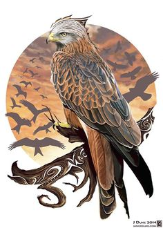 Artwork To Commemorate Red Kites Killed In Ross-shire