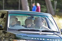 dailymail: Queen Elizabeth drove the Duchess of Cambridge's mother Carole Middleton around Balmoral, September 10, 2016