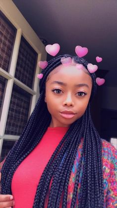 We know Skai Jackson from TV shows and movies. Hairstyles For Gowns, Baddie Hairstyles, Box Braids Hairstyles, Black Girls Hairstyles, Protective Hairstyles, Pretty Hairstyles, Skai Jackson, Black Girl Braids, Girls Braids
