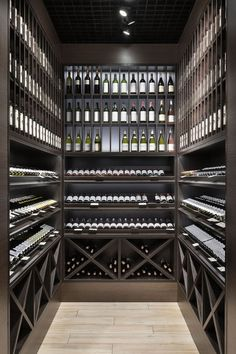 Red Wine Sangria - - Home Wine Room - Wine Storage Unit - Glass Wine Cellar, Home Wine Cellars, Wine Cellar Design, Wine Cellar Modern, Wine Cellar Racks, Wine Shop Interior, Wine Cellar Basement, Wine Display, Wine Wall