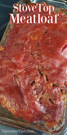 Easy Stove Top Meatloaf Recipe combines ground beef and Stove Top Stuffing mix together to create an amazing comfort food meatloaf. So easy to make with a delicious meatloaf glaze over the top you will love how great this meatloaf turns out.