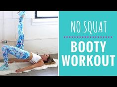 NO SQUAT Booty & Inner Thigh Workout - Super Sister Fitness