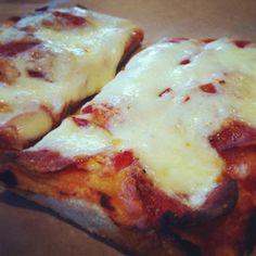 Pepperoni a classic. How To Make Pizza, Breakfast Cereal, Hawaiian Pizza, Pepperoni, Choices, Menu, Classic, Food, Menu Board Design