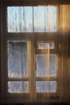 Жизнь горожанки в деревне: (-11)   Как украсить окна?