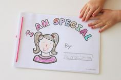 I Am Special - printable book for All About Me Theme