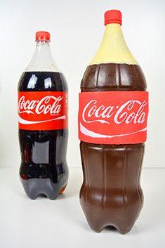 So gelingt der Coca-Cola Flaschenkuchen