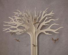 Amazing paper tree.