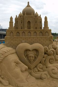 Amazing Sand Castle.  Go to www.YourTravelVideos.com or just click on photo for home videos and much more on sites like this.
