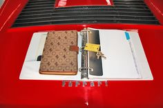 1979 Ferrari 308 GTS Serial Number 27705-Manual pouch and repairs book