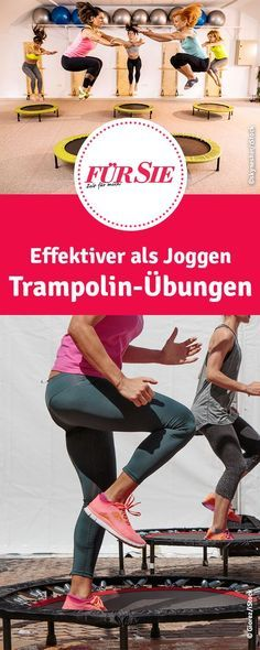 Effektiver als Joggen: Trampolin-Übungen What should a healthy eating list be? Cardio Yoga, Pilates Workout, Barre Workout Video, Band Workout, 20 Minute Workout, Insanity Workout, Workout Memes, Best Cardio Workout, Barre Exercises At Home