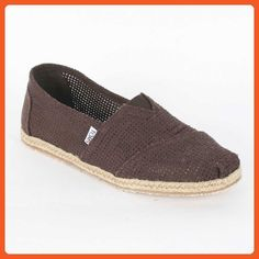 a58a1caf5e Toms - Mens Chocolate Freetown Summer Classics Shoes