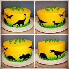 10 Birthday Cake, Birthday Party At Home, Dinosaur Birthday Cakes, Monster Birthday Parties, Dinosaur Cake Toppers, Dino Cake, Rodjendanske Torte, Rainbow Layer Cakes, Cupcake
