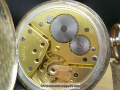 Omega Silber Taschenuhr mit rosévergoldeten Glasreifen Cal. 38,5L.T1 - Omega, Silver, Corning Glass