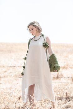 Mia Dress | Parchment Daisy Chain, China Fashion, Belt Tying, Dress Backs, Hemline, Give It To Me, Sunday, Panelling, Style Inspiration