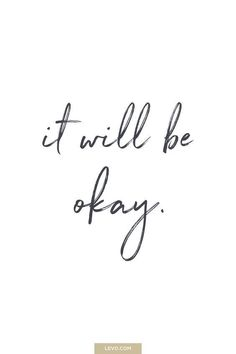 It will be okay – daily mantra – It's National Stress Awareness Day What is Your Mantra For Dealing With Stress? Answer here: wwwlevocom/… The post Kostenloses online Gespräch mit dem Wahrsager: LIVE! appeared first on Woman Casual - Life Quotes Motivacional Quotes, Words Quotes, Tattoo Quotes, Sayings, Small Quotes, The Words, Cool Words, Attitude Positive, Positive Quotes