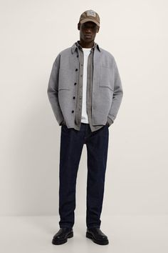 Indie Fashion Men, Guy Fashion, Normcore Fashion, Casual Outfits, Men Casual, Trench Coat Men, Patch, Zara, Menswear