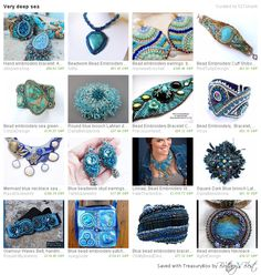 there you can find bead embroidered jewelry by Daila Belozerova. Visit www.dailabelozerova.etsy.com and enjoy shopping!