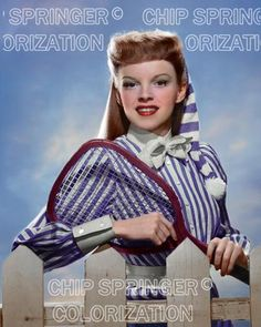5 DAYS! 8X10 JUDY GARLAND MEET ME IN ST. LOUIS COLOR PHOTO BY CHIP SPRINGER. Please visit my Ebay Store at http://stores.ebay.com/x5dr/_i.html?rt=nc&LH_BIN=1 to see the current listings of your favorite Stars now in glorious  color! Message me if you would like me to relist your favorites.