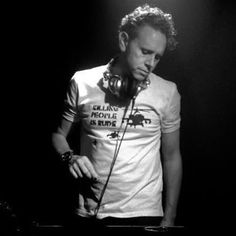 Martin Gore of Depeche Mode Dj'ing. Make sure to check him out when you have the chance.