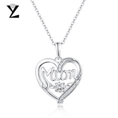 """""""YL Heart-Shaped 925 Sterling Silver Initial Necklaces #handmadejewellery #indianjewellery #jewellery #jewelleryaddict #jewelleryblogger #jewellerybox #jewellerydesign #jewellerydesigner #jewellerygram #jewellerylove #jewellerylover #jewellerymaker #jewellerymaking #jewelleryoftheday #jewellerystore"""""""