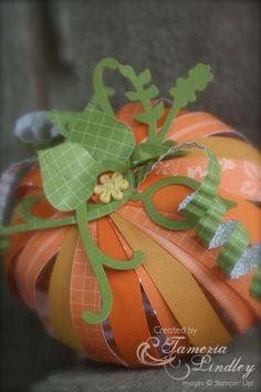 Paper pumpkin....
