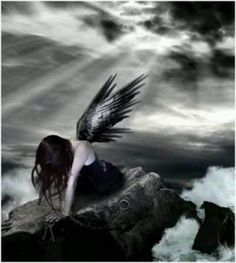 Dark angel. This is so beautiful...