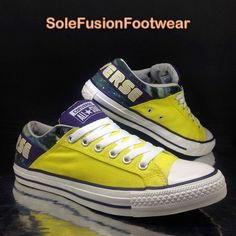 6ba09066f342 Converse Mens All Star Galaxy Trainers Yellow sz 9 Padded Skate Sneakers EU  44