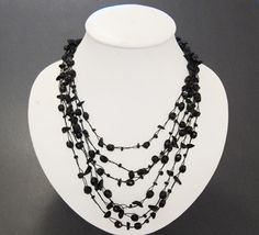 Black-Layered-Necklace