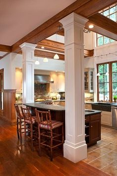 1000 images about home column design on pinterest for Column ideas for house