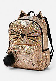 Sparkle Cat Backpack