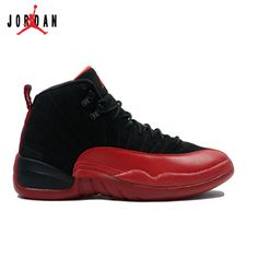 d73531d0e16 130690-065 Air Jordan 12 Flu Game Black Varsity Red A12003,Jordan-Jordan