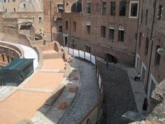 Another view of curved area of Trajan's Markets | Flickr - Photo Sharing!