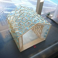 S + fujiki studio create a porous manifold as a japanese tearoom in tokyo Digital Fabrication, Tea Ceremony, Design Firms, Design Awards, Geometry, Tokyo, Decorative Boxes, Japanese, Traditional
