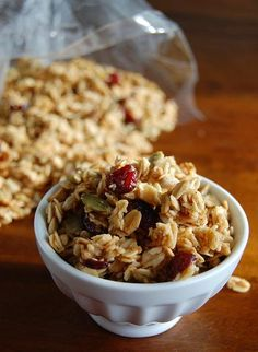 Fall Is Here Granola (1) From: Culinary Concoctions By Peabody, please visit